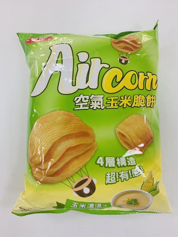 華元.(玉米濃湯)派對包空氣玉米脆餅150g