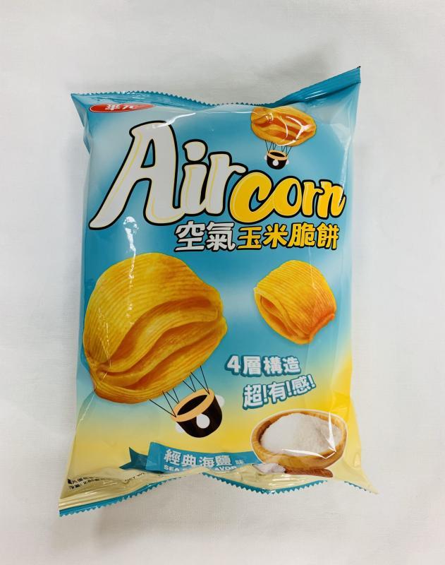 華元.81g空氣玉米脆餅(海鹽)