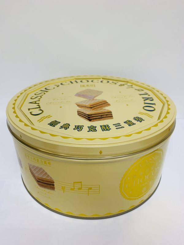 盛香珍.433g經典巧克酥三重奏禮桶