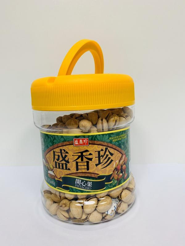 盛香珍-460g開心果桶