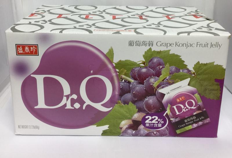盛香珍.10斤DR.Q葡萄蒟蒻