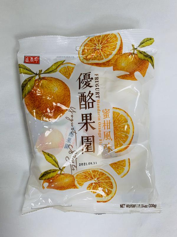 盛香珍.330g優酪果園(蜜柑)