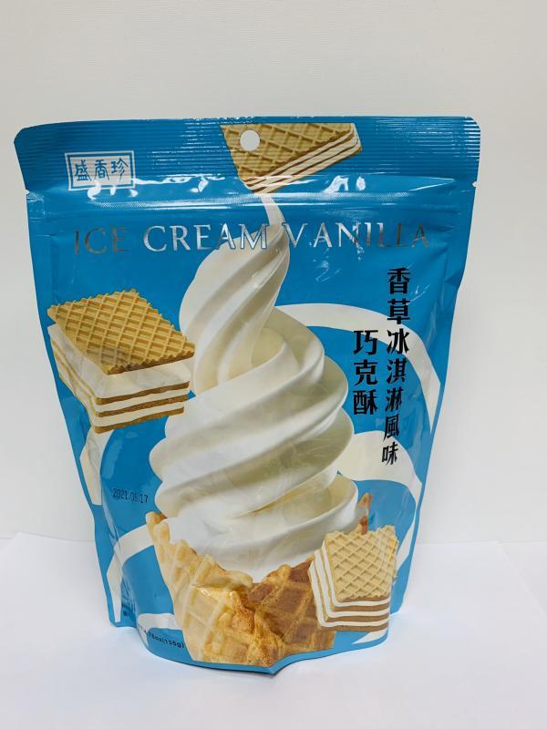 盛香珍.135g香草冰淇淋巧克酥