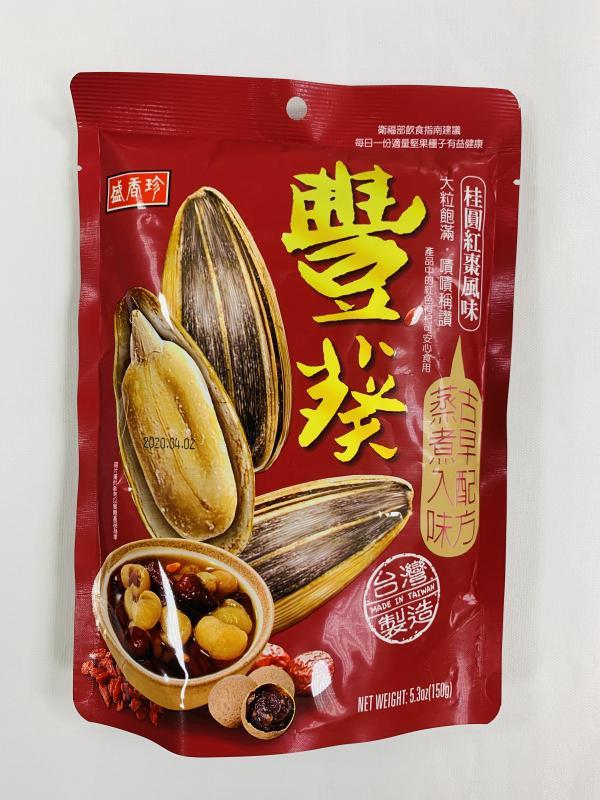 盛香珍.150g豐葵香瓜子(桂圓紅棗)