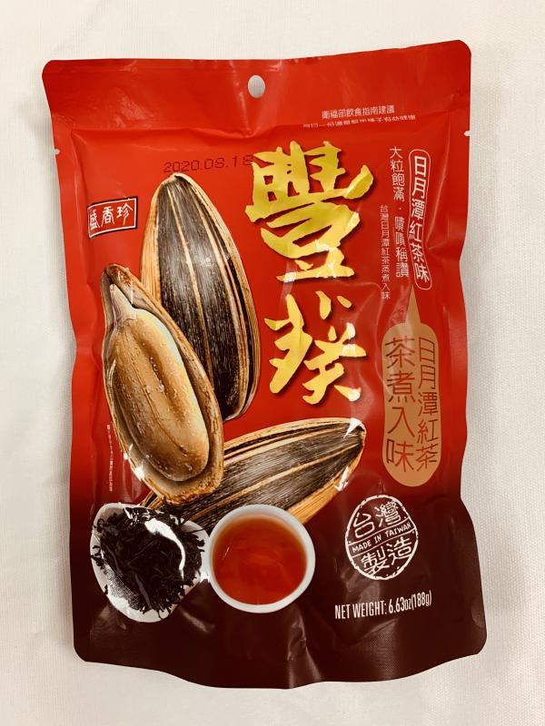 盛香珍.188g豐葵香瓜子(紅茶)