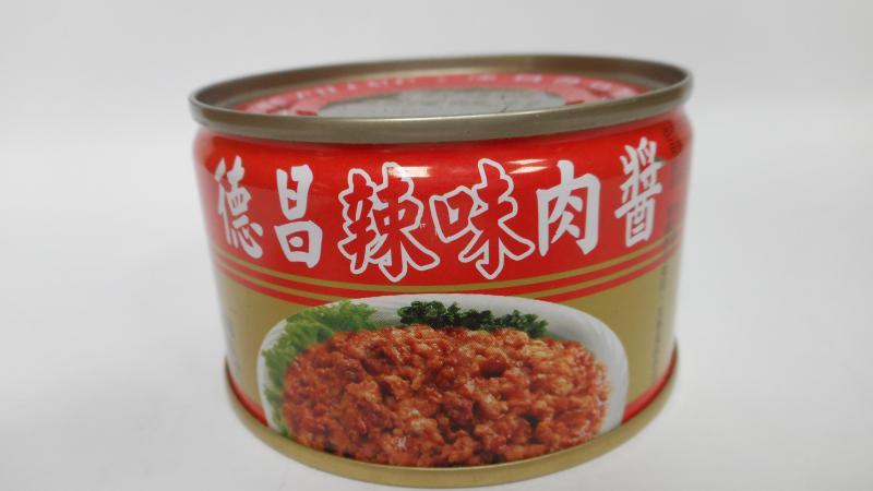 德昌.140g辣味肉醬罐