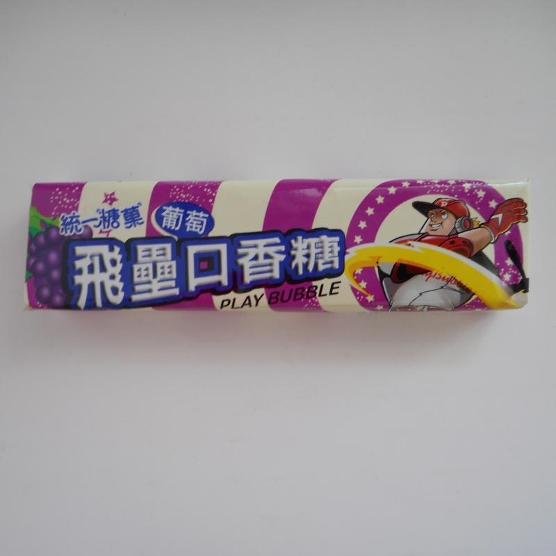 統一-新飛壘口香糖(葡萄)
