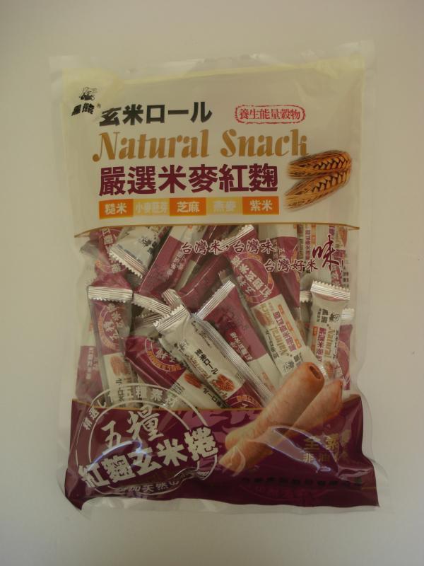 鑫豪-五糧紅麴玄米捲