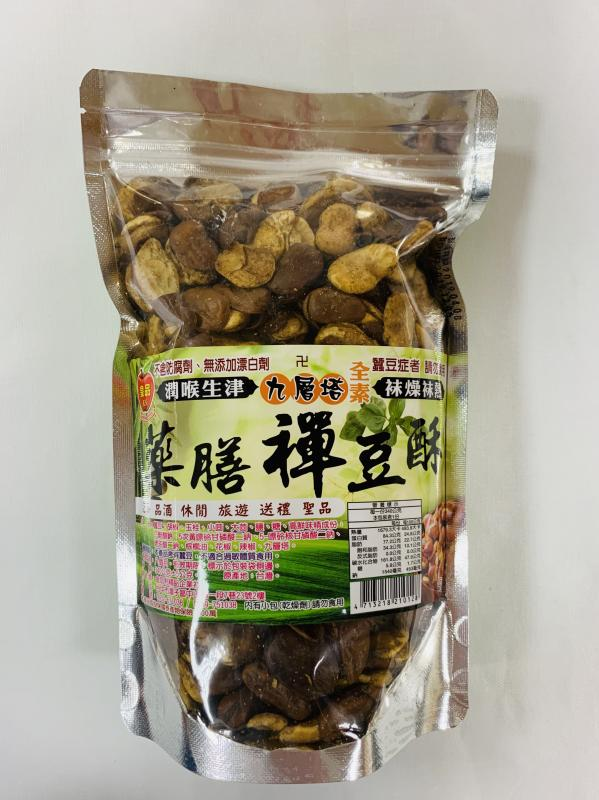 金加利.340g藥膳禪豆酥(九層塔)