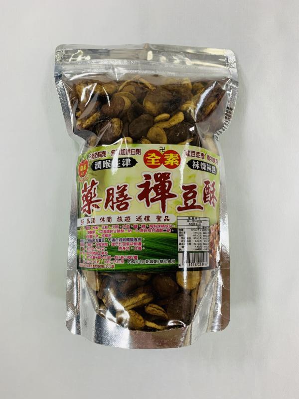 金加利.340g藥膳禪豆酥(全素)