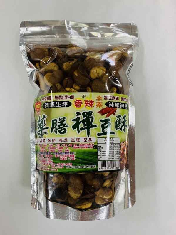 金加利.340g藥膳禪豆酥(香辣)