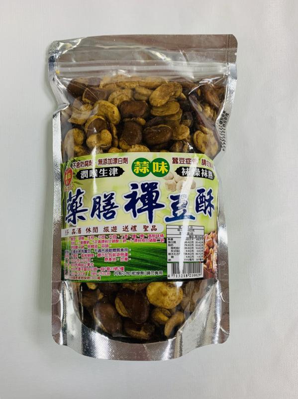 金加利.340g藥膳禪豆酥(蒜味)