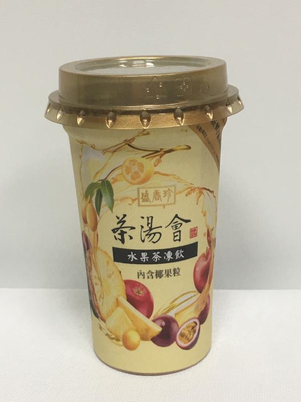 盛香珍.275g茶湯會水果茶凍飲