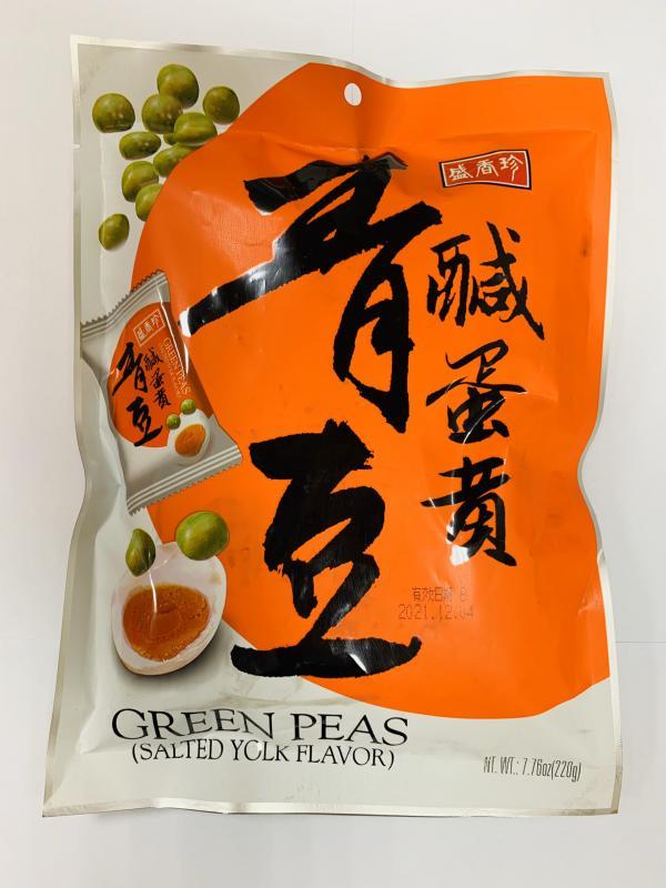 盛香珍.鹹蛋黃青豆 220g
