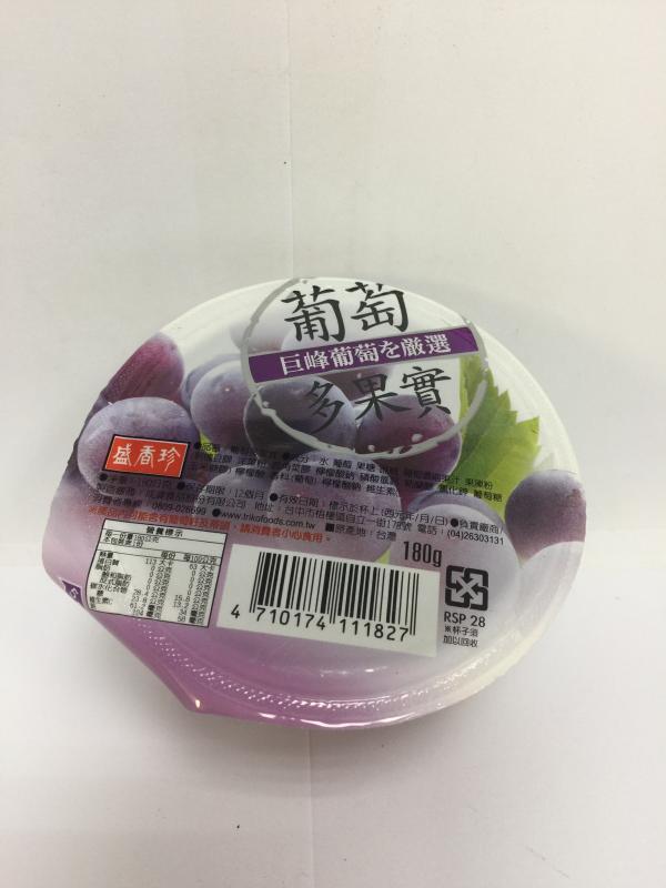 盛香珍.180g葡萄多果實