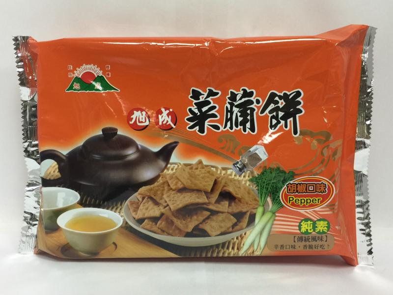 140g旭成菜脯餅-胡椒