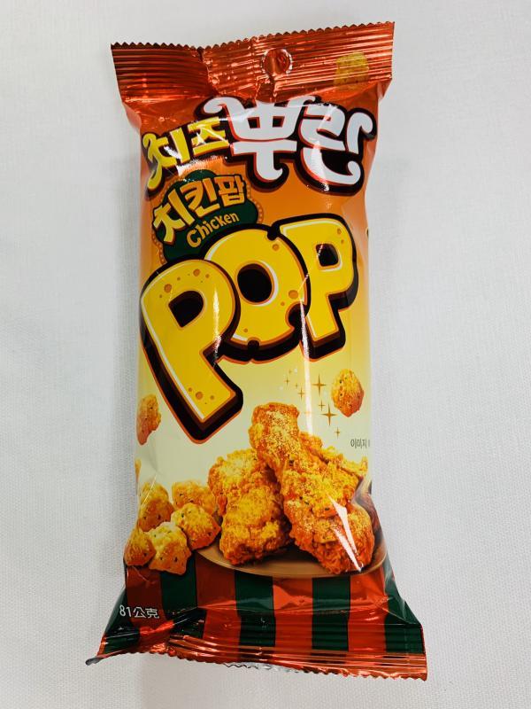 韓麗.81g雞米花脆餅-韓式起士炸雞