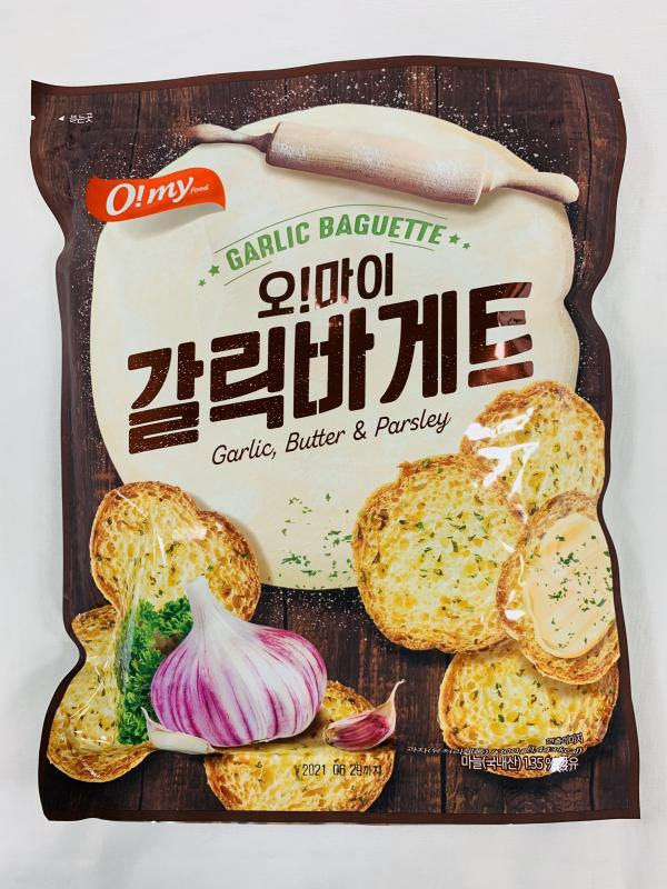 韓麗.300g歐邁福法式麵包餅乾-香蒜奶油
