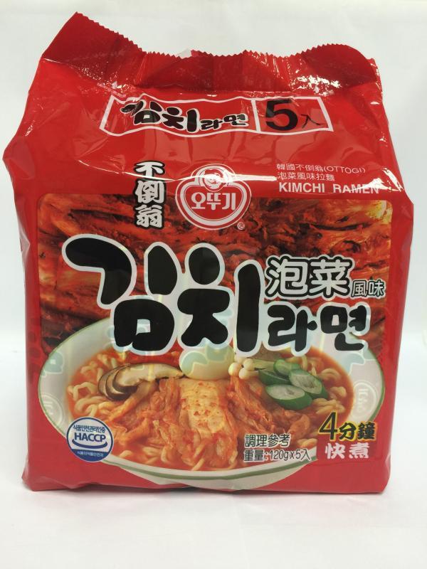 韓國不倒翁拉麵(泡菜)