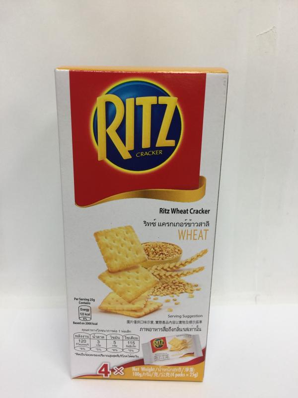 100g麗滋蘇打餅乾-榖香小麥