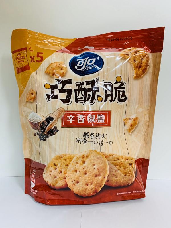 億滋.125g可口巧酥脆(辛香椒鹽)