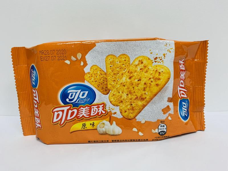 億滋.75g可口美酥原味-半條裝