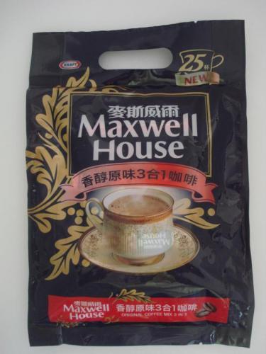 麥斯威爾25入香醇原味三合一隨身包