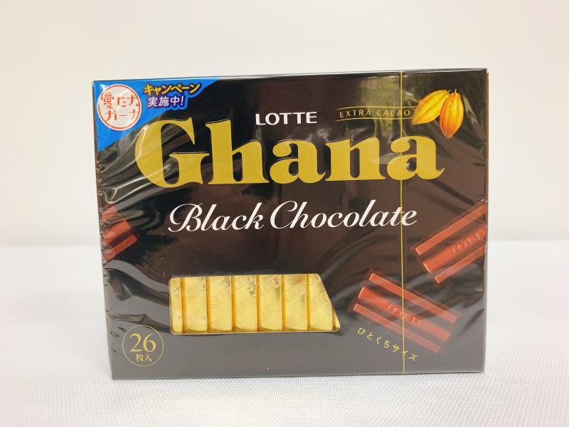 LOTTE. Ghana(黑)代可可脂巧克力
