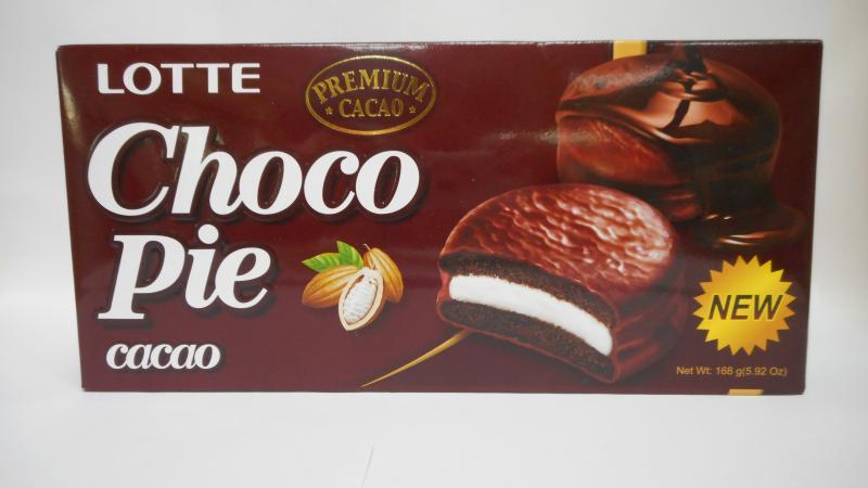 LOTTE(6入黑)巧克力派