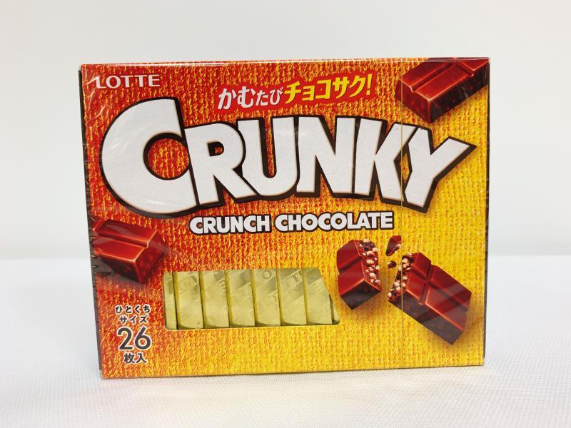 樂天.Crunky脆心巧克力(26入)
