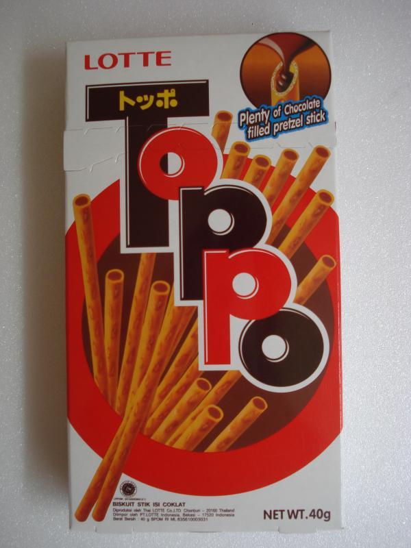 LOTTE  Toppo 巧克力棒
