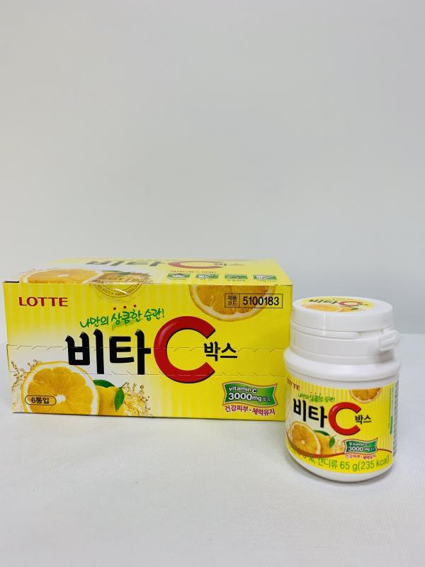 LOTTE-65g(罐) Vita C檸檬糖