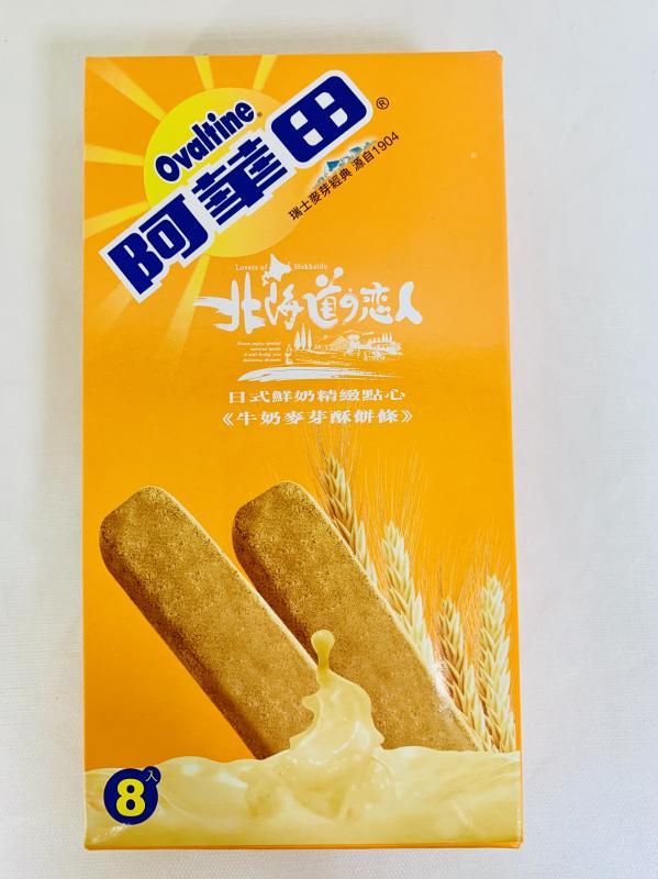 掬水軒.88g阿華田牛奶麥芽酥餅條