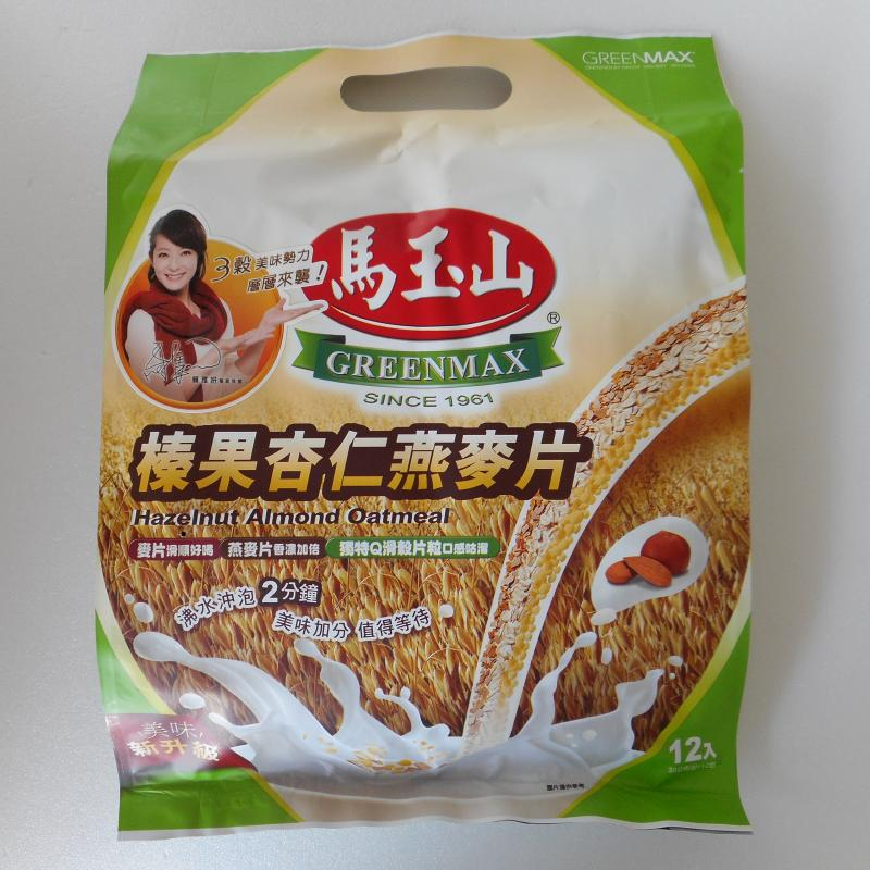 馬玉山榛果杏仁燕麥片