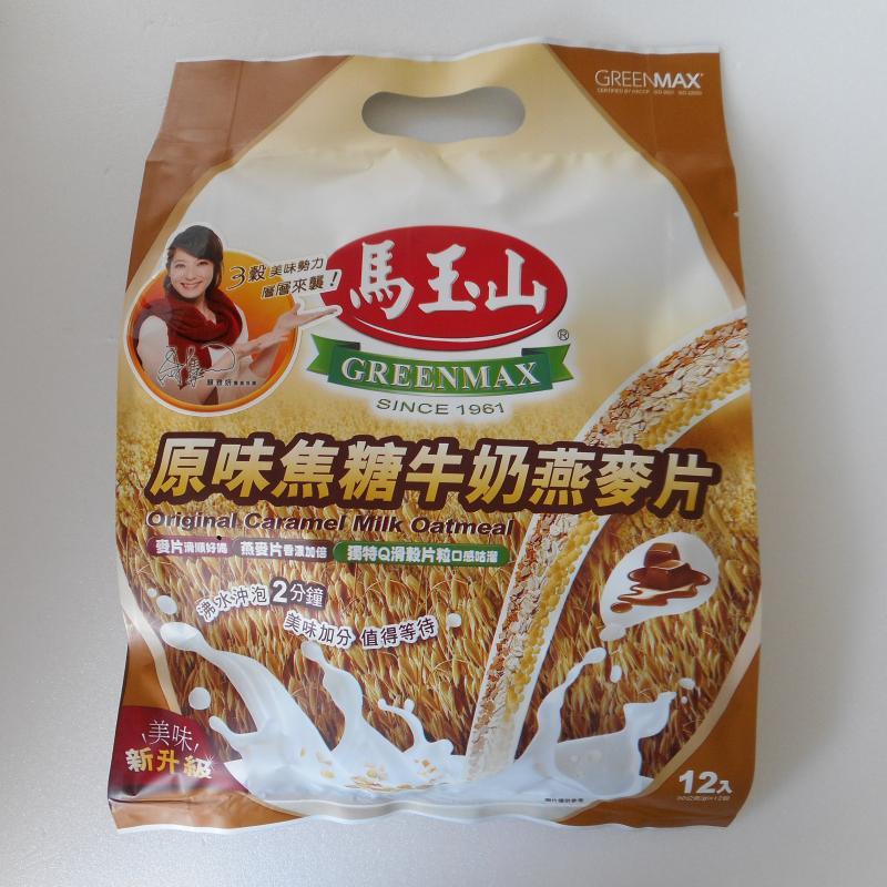 馬玉山原味焦糖燕麥片