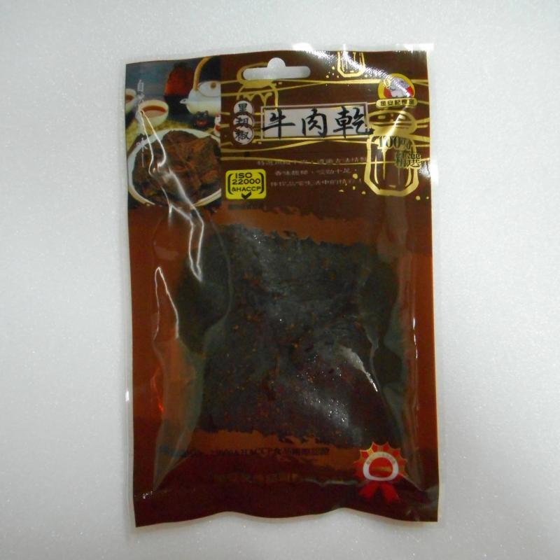 金安記-黑胡椒牛肉乾