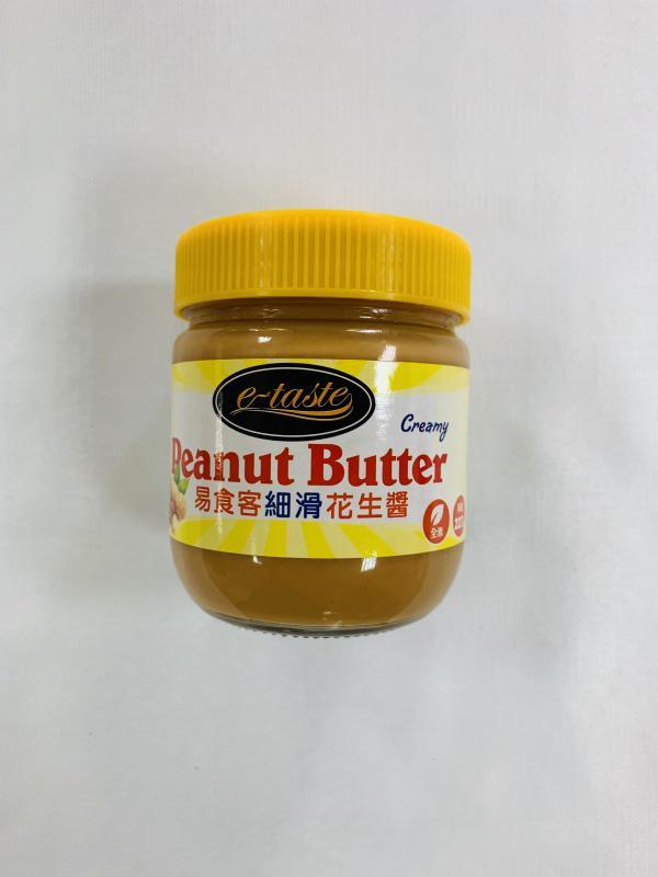 易食客227g細滑花生醬(玻)