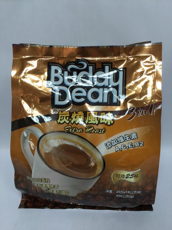 巴迪三合一咖啡-炭燒風味
