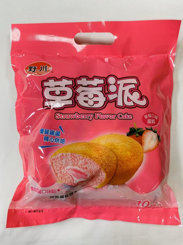 旺旺.野川(10入)草莓派190g