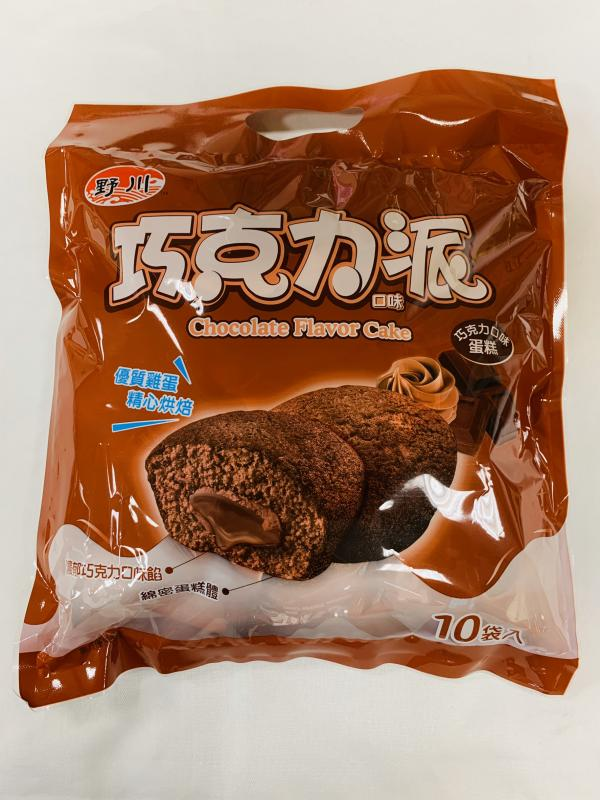 旺旺.野川(10入)巧克力派190g