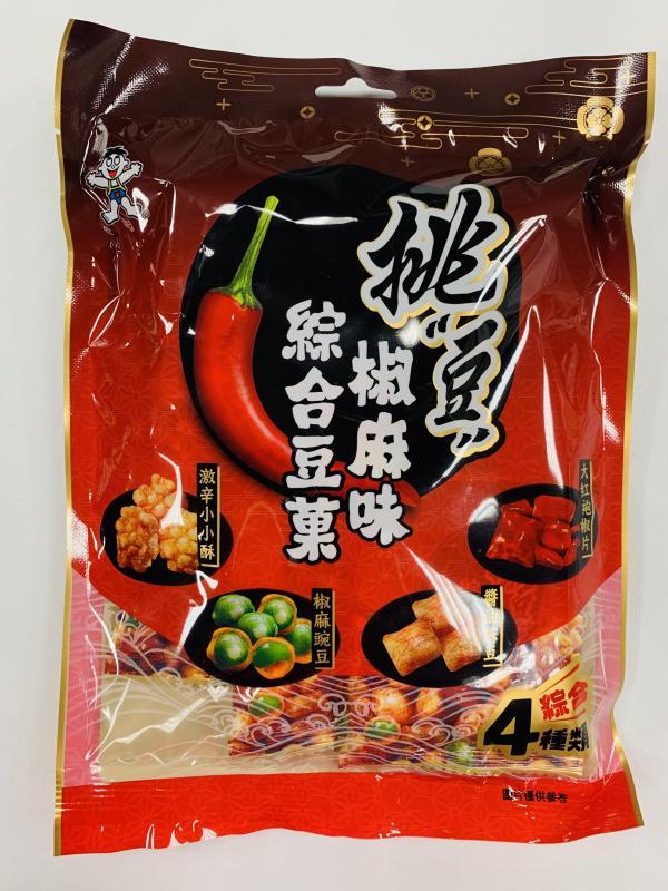 旺旺.70g挑豆-椒麻味綜合豆菓