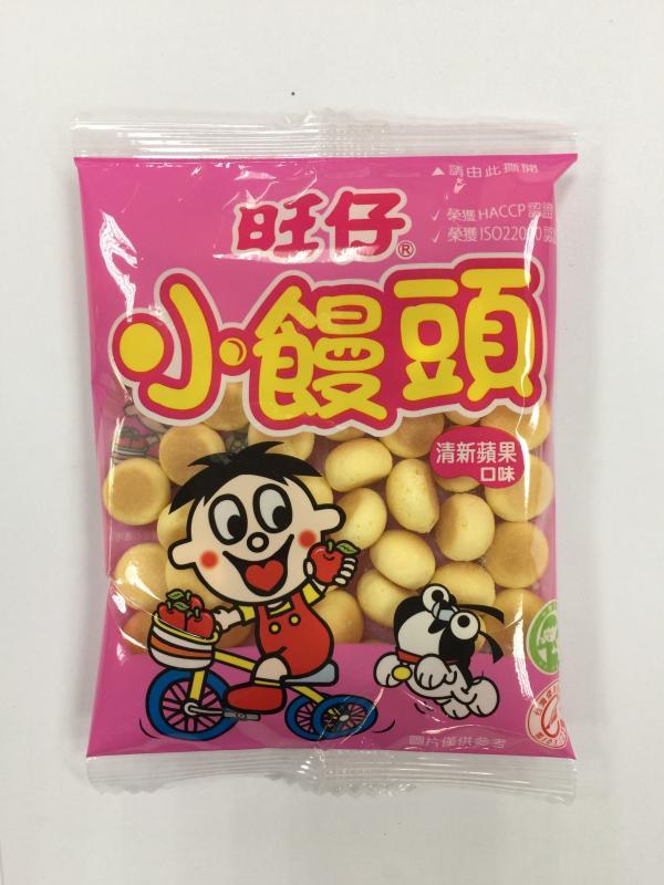 旺旺.10元旺仔小饅頭-蘋果