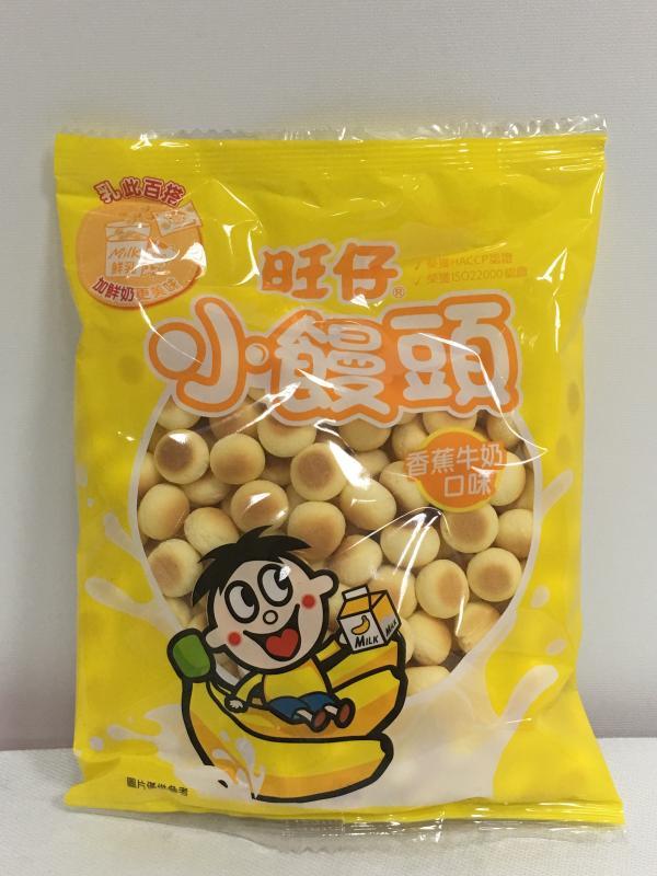 '旺旺.25旺仔小饅頭-香蕉牛奶105g