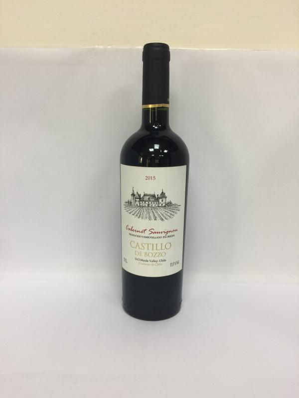 750ml智利博諾城堡卡本內紅酒