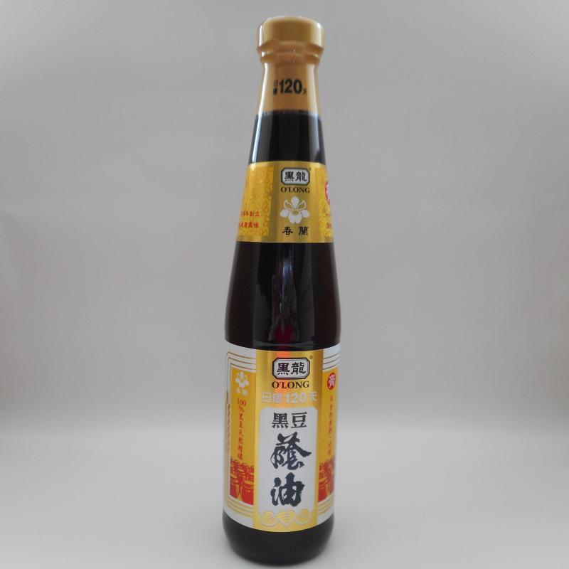 黑龍(三鷹)-春蘭黑豆蔭油(膏)