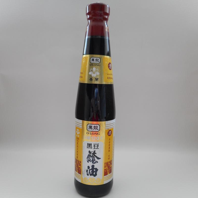 黑龍(三鷹)-春蘭黑豆蔭油(清)