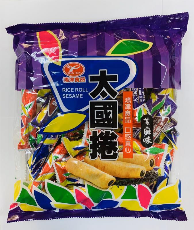鴻津.350g太國捲(芝麻)