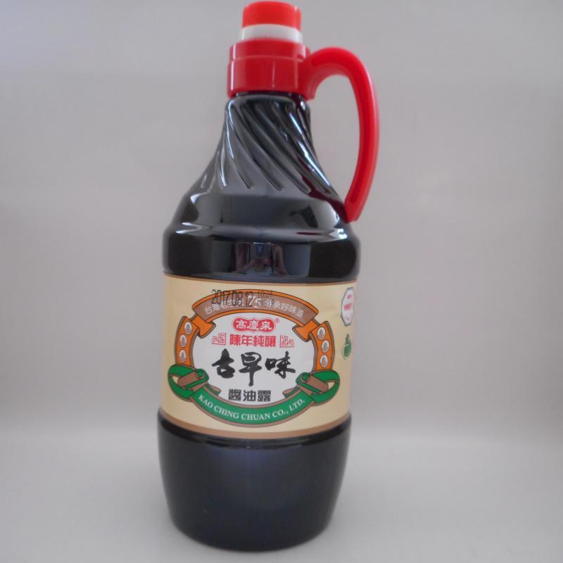 高慶泉-純釀古早味醬油露