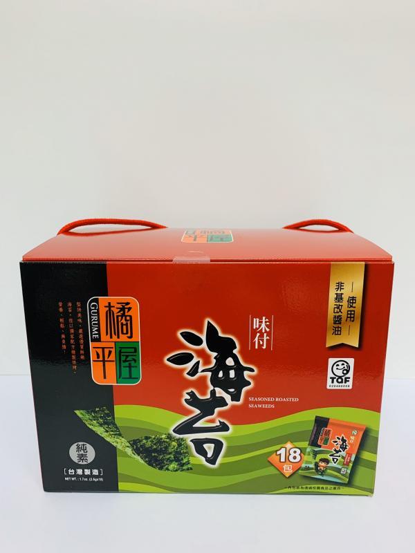 橘平屋8切8枚海苔禮盒