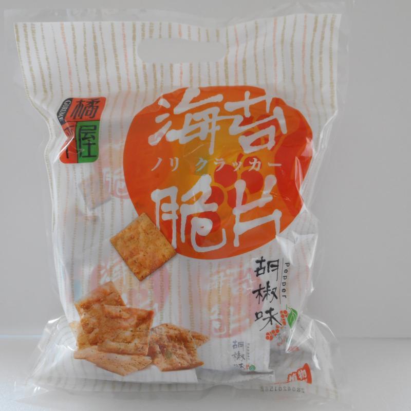 橘平屋海苔脆片量販包(胡椒)